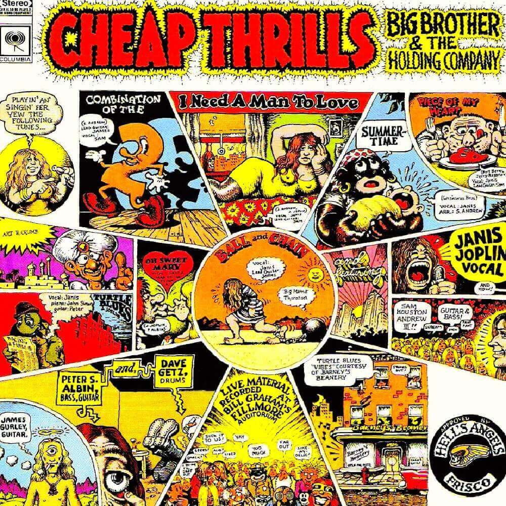 Big Brother and the Holding Company — Cheap Thrills (1968)