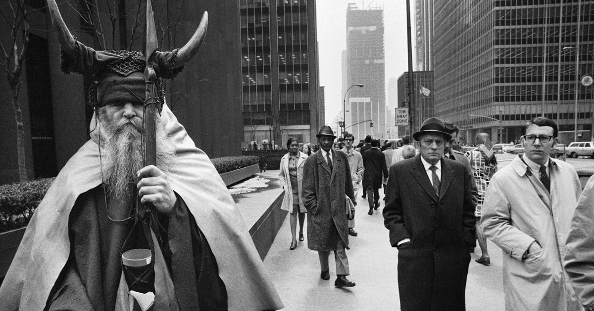 Moondog — Fog On The Hudson (425 West 57th Street)