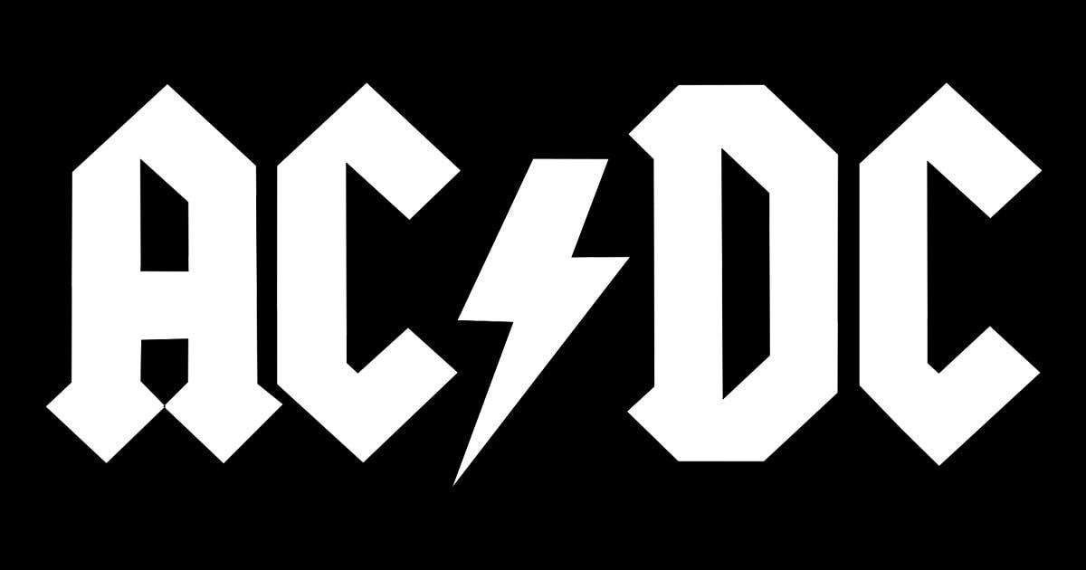 Логотип группы AC/DC