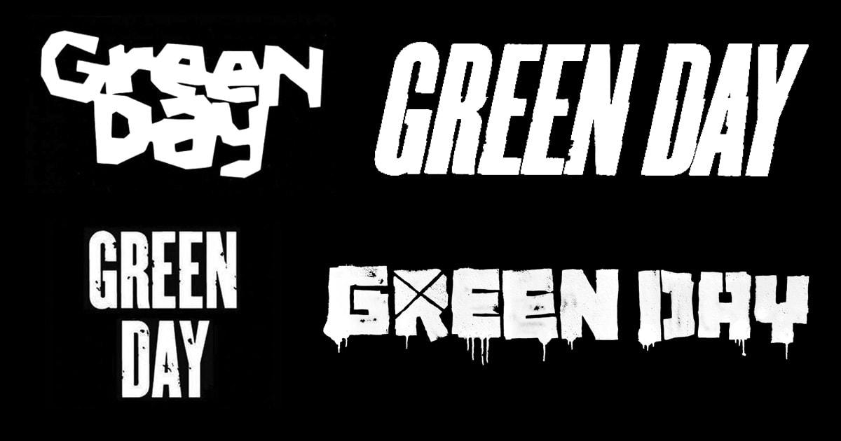 Изменения логотипа группы Green Day