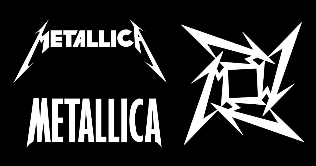 Изменения логотипа группы Metallica