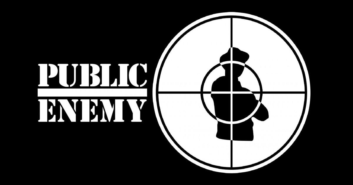 Логотип группы Public Enemy